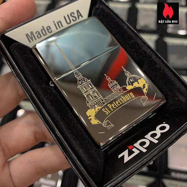 Zippo 150 ST Petersburg Skyline