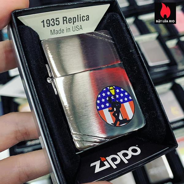 Zippo 1935 Reveler American Flag 1
