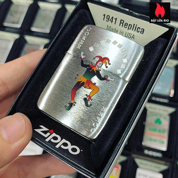 Zippo 1941 Joker Spade Design 1