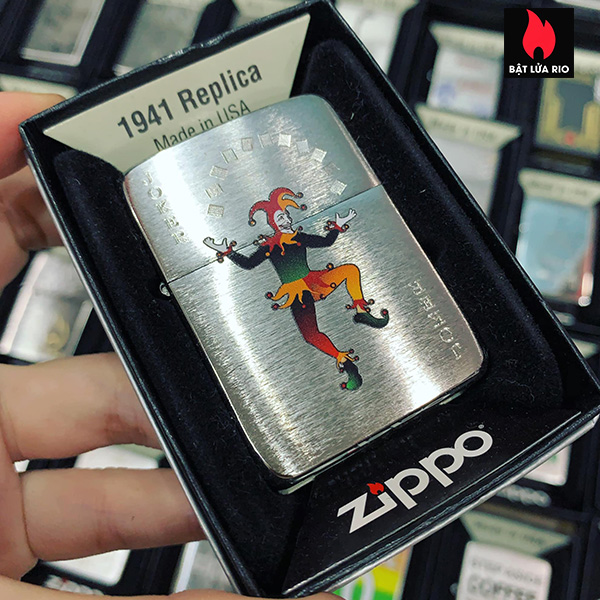 Zippo 1941 Joker Spade Design