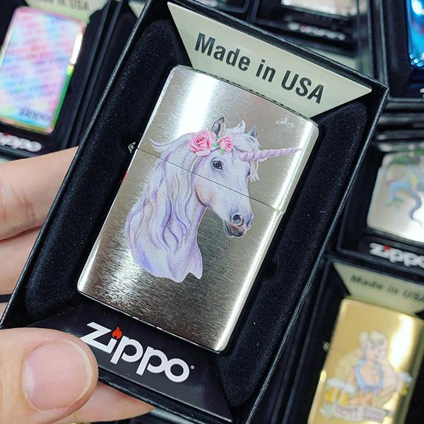 Zippo 200 Unicorn Rose