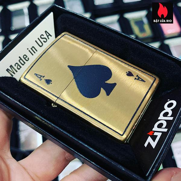 Zippo 204B Ace Of Spades 1