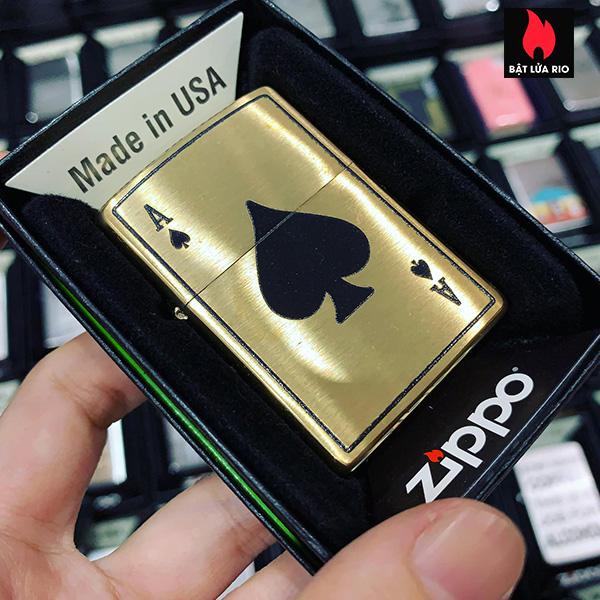 Zippo 204B Ace Of Spades