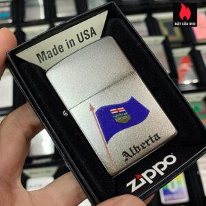 Zippo 205 Alberta Flag Souvenir