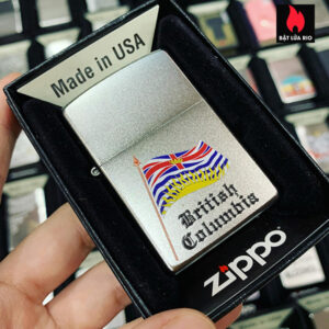 Zippo 205 British Colombia Flag Souvenir