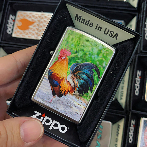Zippo 205 Colorful Rooster