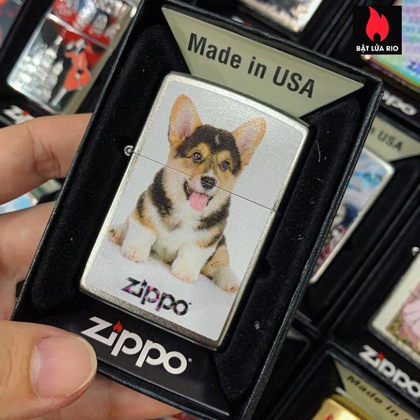 Zippo 205 Dog And Zippo