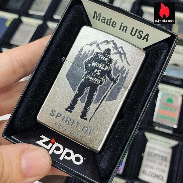 Zippo 205 Hiking Design