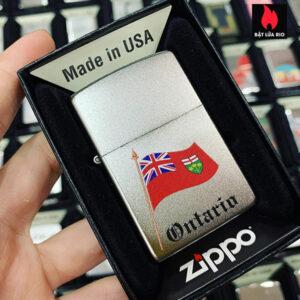 Zippo 205 Ontario Flag Souvenir
