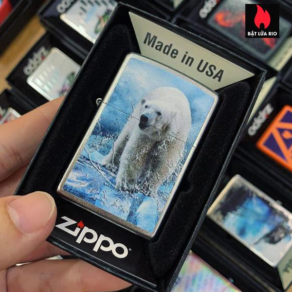 Zippo 205 Polar Bear Greenland