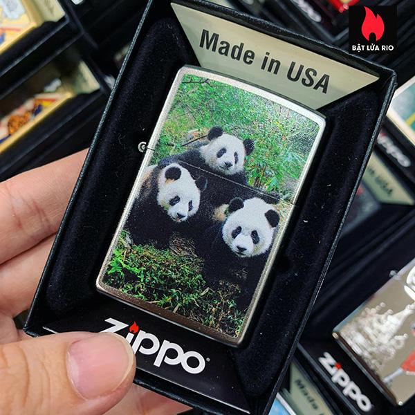 Zippo 205 Three Pandas
