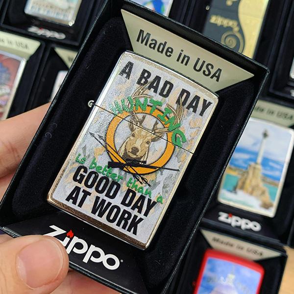 Zippo 207 Bad Day Hunting