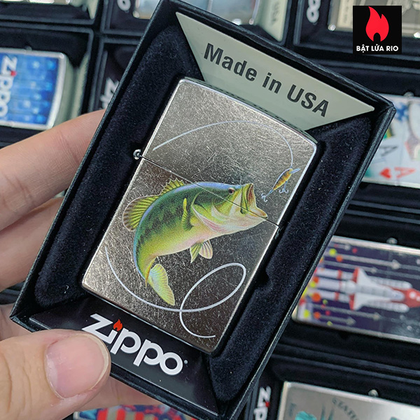 Zippo 207 Bass Fishing