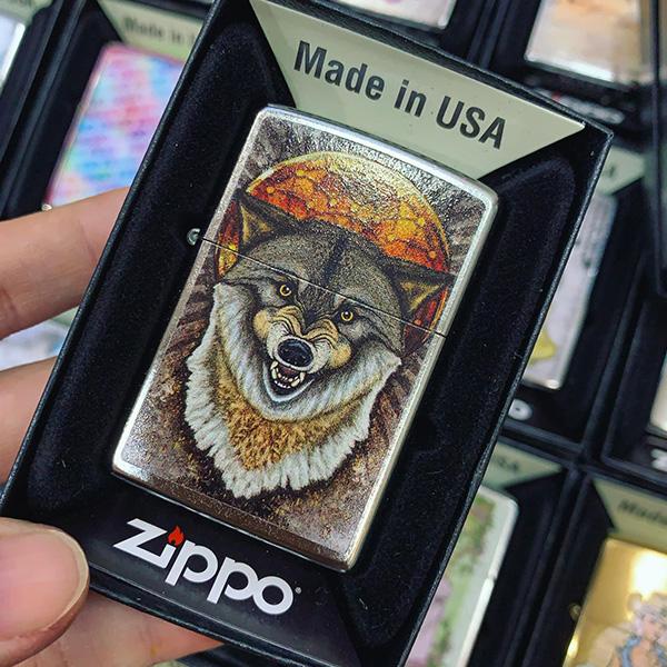 Zippo 207 Casino Wolf