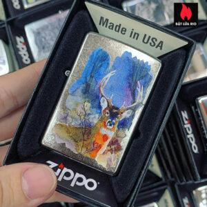 Zippo 207 Deer Design