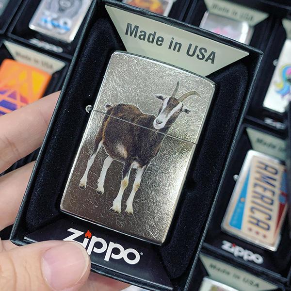 Zippo 207 Goat