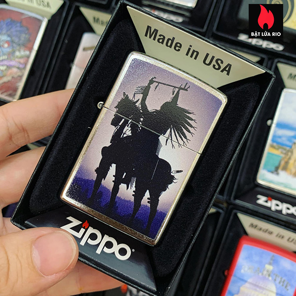 Zippo 207 Indian On Horse