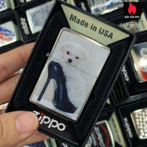 Zippo 207 Puppy In Shoe