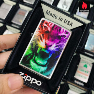 Zippo 207 Rainbow Tiger