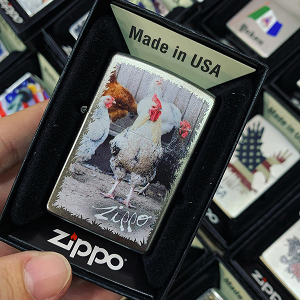 Zippo 207 Roosters
