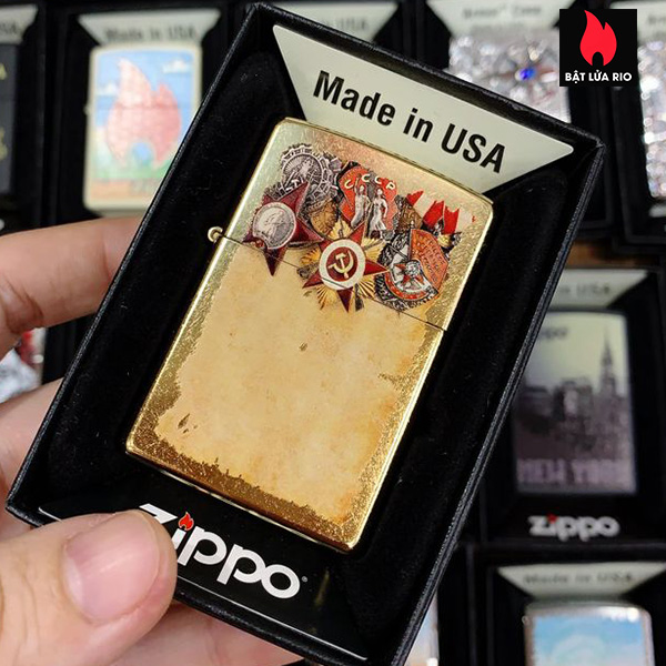 Zippo 207G Russian Military Medals