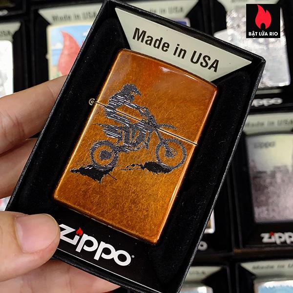 Zippo 21184 Motorbike Design