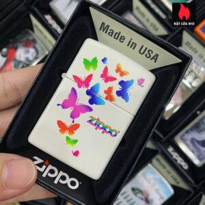 Zippo 214 Colorful Butterflies Design