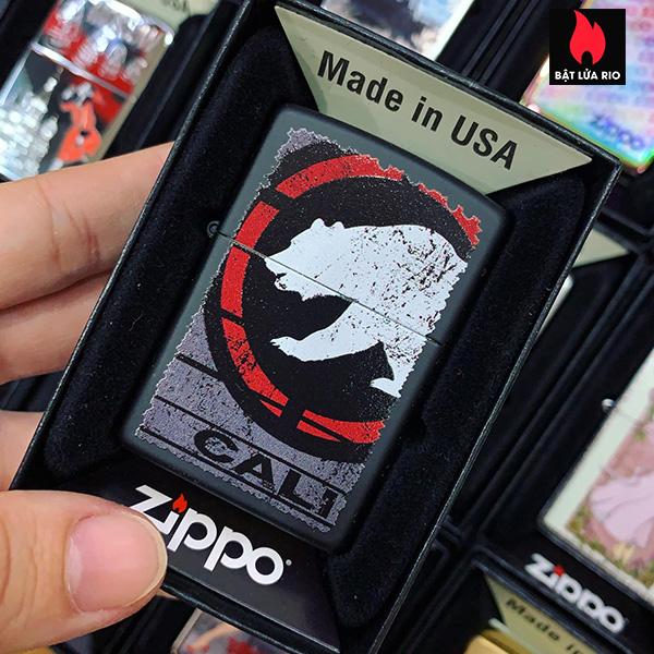 Zippo 218 Cali Bear