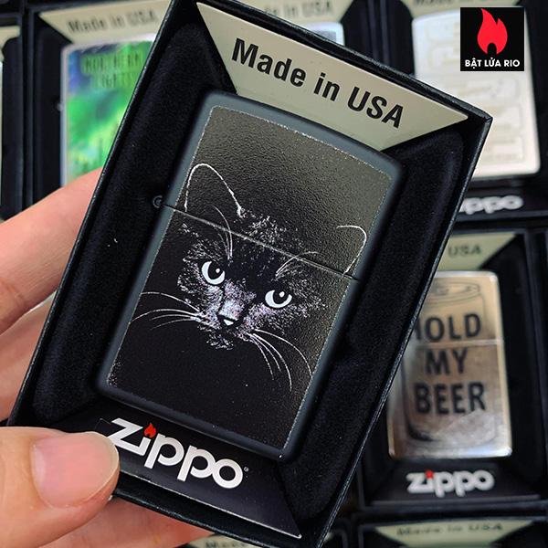 Zippo 218 Cat Sketch Tatoo Drawing