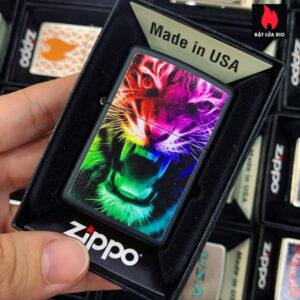 Zippo 218 Rainbow Tiger