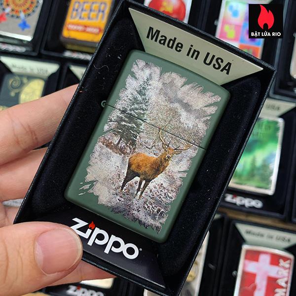 Zippo 221 Red Deer