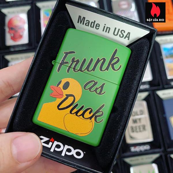 Zippo 228 Frunk As Duck Design