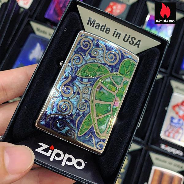 Zippo 250 Fuzion Turtle