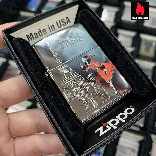 Zippo 250 Windy In Paris