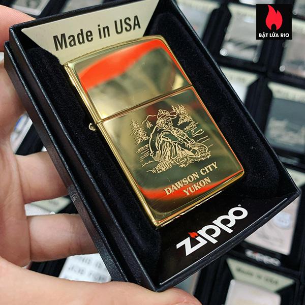 Zippo 254B Yukon Gold Panner DA 2