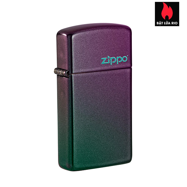 Zippo 49267ZL - Zippo Slim® Iridescent Zippo Logo