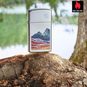 Zippo 49412 - Zippo Slim® Landscape High Polish Chrome 1
