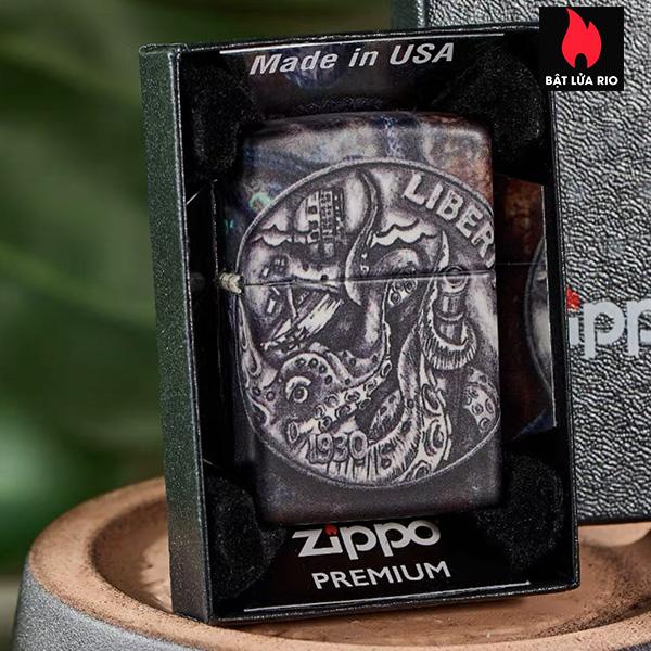 Zippo 49434 – Zippo Pirate Coin 540 Color 8