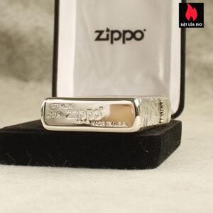 Zippo Bạc Khối 15 Khắc Thanh Minh Thượng Hà Đồ 4 Mặt – Zippo 15.TMTHD 4