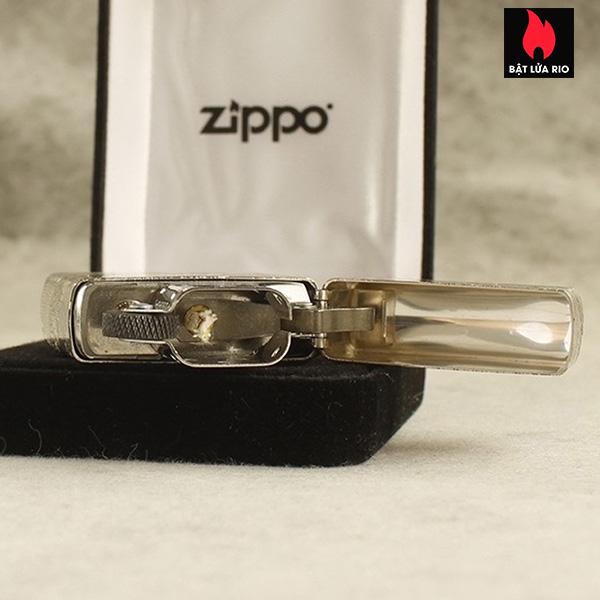 Zippo Bạc Khối 15 Khắc Thanh Minh Thượng Hà Đồ 4 Mặt – Zippo 15.TMTHD 8