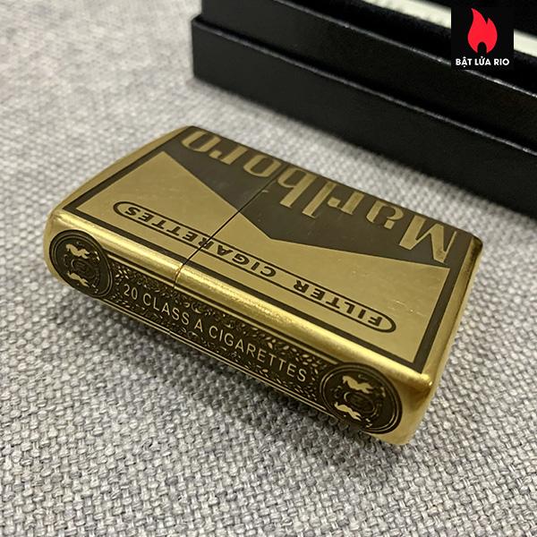 Zippo Gold Dust 207G Khắc Marlboro Light 5 Mặt – Zippo 207G.MARL 8