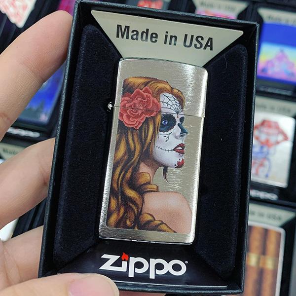 Zippo 1600 Day Of Dead Girl