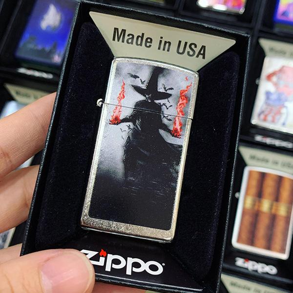 Zippo 1607 Dark Witch Design