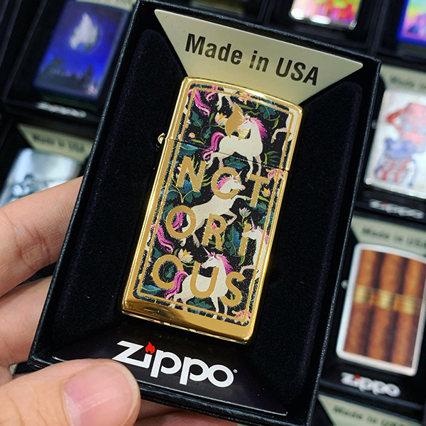 Zippo 1654B Notorious Design