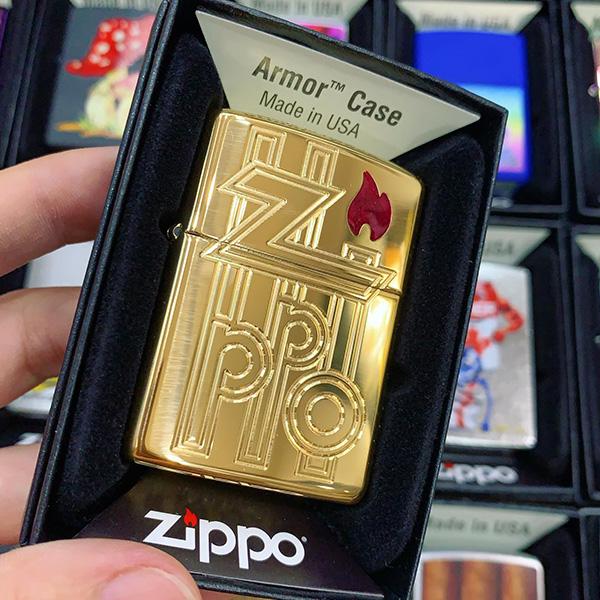Zippo 169 Armor Abstract Logo Design 2