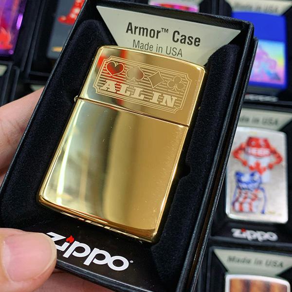 Zippo 169 Card Suit Design