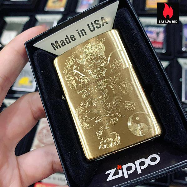 Zippo 204B Asian Dragon 1