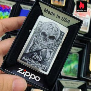 Zippo 205 2ND Amendment