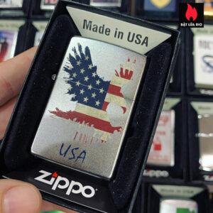 Zippo 205 Eagle Stars Stripes