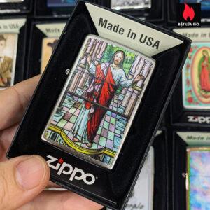 Zippo 205 Jesus Design